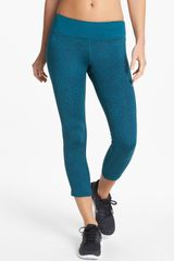 Nike Epic Run Print Crop Leggings - Lyst