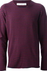 Societe Anonyme Striped Sweater - Lyst