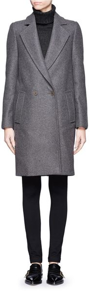Stella McCartney Contrastback Woolblend Coat - Lyst