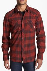 Vans Edgeware Plaid Western Shirt - Lyst