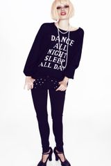 Wildfox Couture Dance All Night Pfeiffer Sweater - Lyst