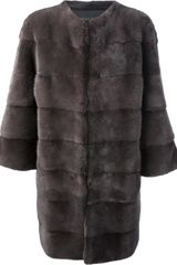 Blancha Long Length Coat - Lyst