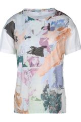 Carven Short Sleeve T-shirt - Lyst