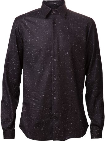 Mugler Speckled Shirt - Lyst