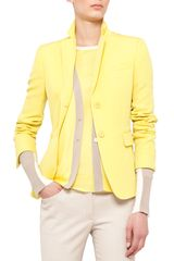 Akris Punto Fitted Technowool Blazer - Lyst