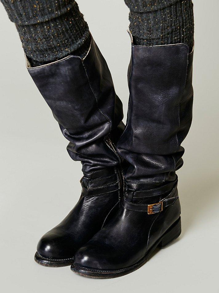 Bed Stu Bonnor Tall Boot In Black Lyst