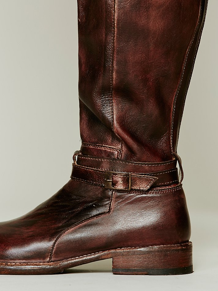 Bed Stu Bonnor Tall Boot In Brown Lyst