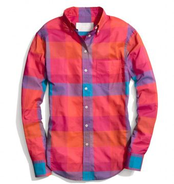 Coach Cotton Voile Boy Shirt - Lyst