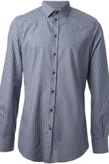 Dolce & Gabbana Gingham Checked Shirt - Lyst