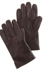 J.Crew Cashmerelined Leather Smartphone Gloves - Lyst