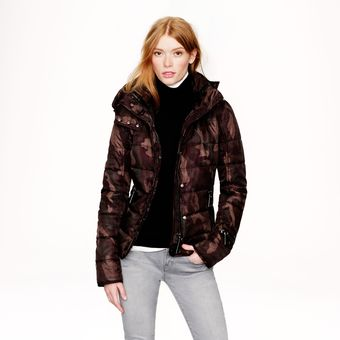 J.Crew Authier Camo Hooded Jacket - Lyst
