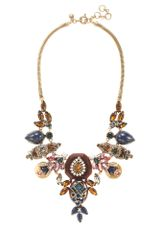 J.Crew Gem Collage Necklace - Lyst