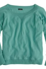 J.Crew Collection Cashmere Sweatshirt - Lyst