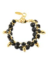 Joomi Lim Crystal Skull and Bead Bracelet - Lyst