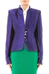 L'Wren Scott Jacquard and Jersey Jacket - Lyst
