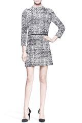 Proenza Schouler 34sleeve Tweed Shift Dress - Lyst