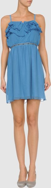 Charlotte Ronson Short Dress - Lyst