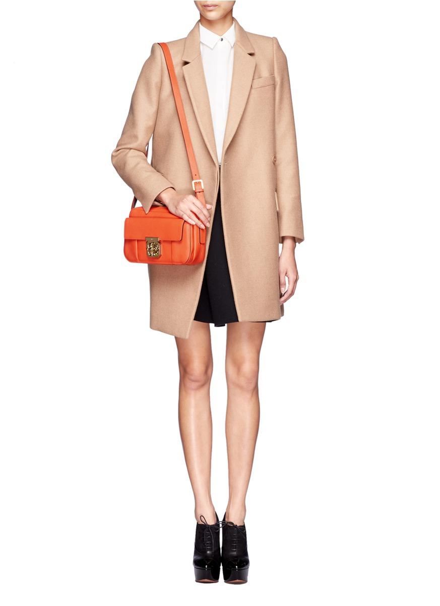 chloe python handbag - chloe elsie leather bag