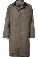 Christophe Lemaire Cotton and Wool blend Coat - Lyst