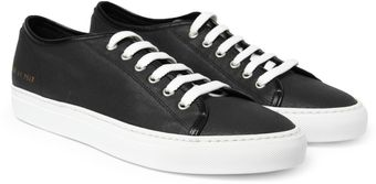 Common Projects Tournament Waxed Canvas Low Top Sneakers - Lyst