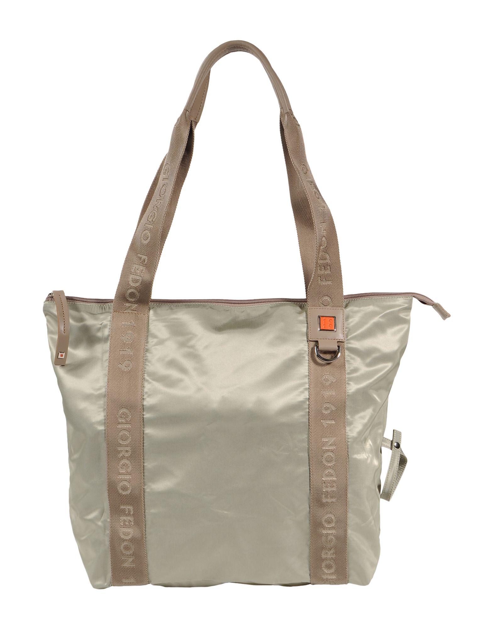 Giorgio fedon Large Fabric Bag in Gray