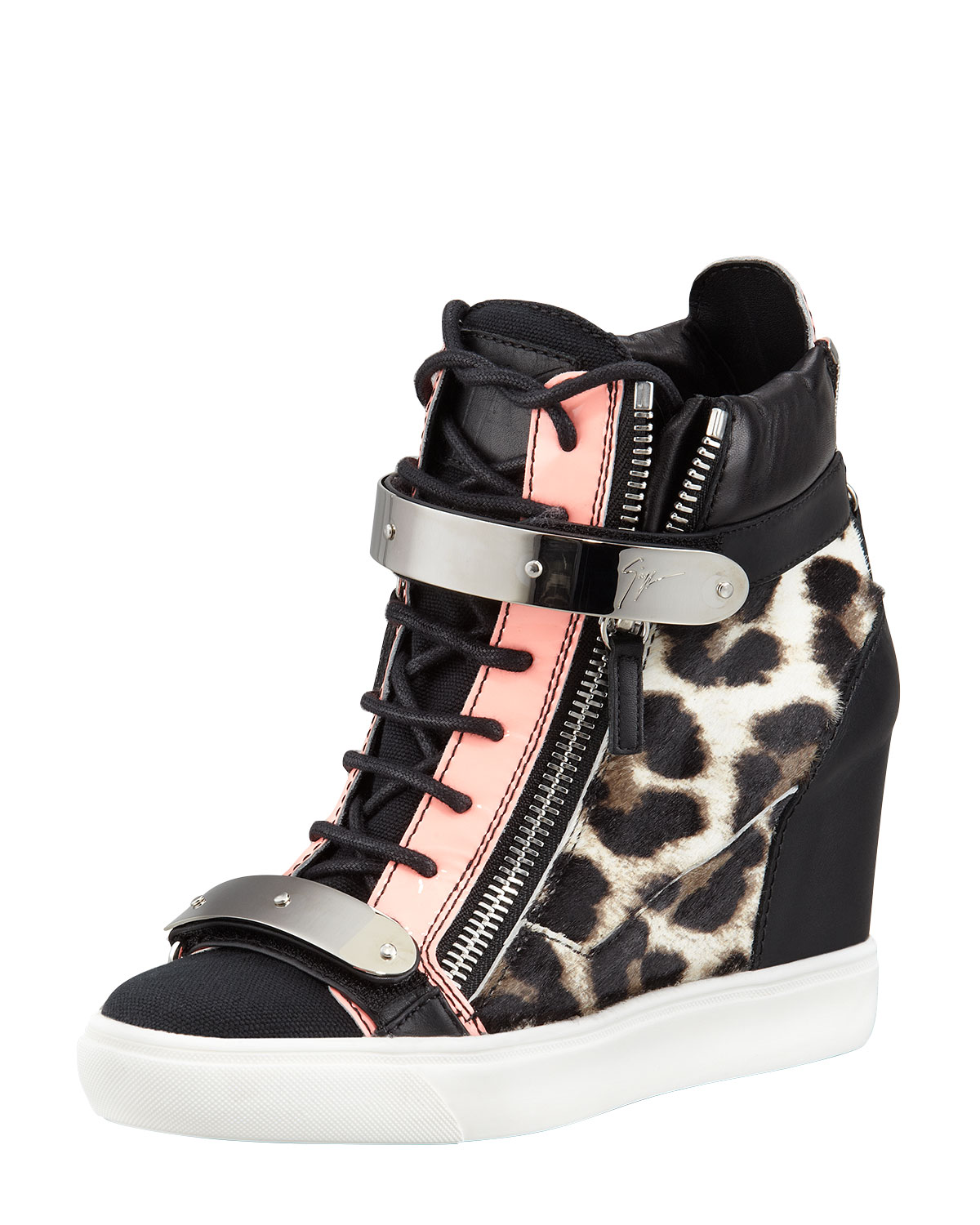a026aed88f393 Gallery. Previously sold at: Bergdorf Goodman · Women's Wedge Sneakers ...