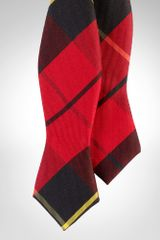 Polo Ralph Lauren Twill Tartan Spencer Bow Tie - Lyst