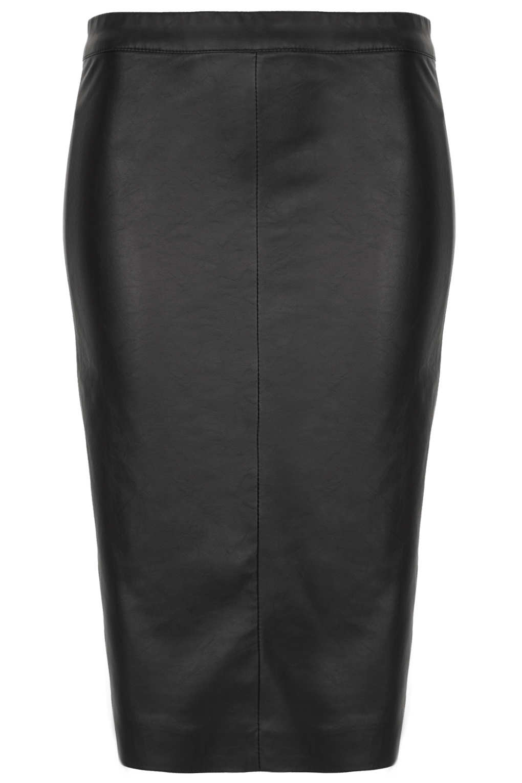 Topshop Tall Black Panel Pencil Skirt in Black | Lyst