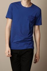 Burberry Graphic Print Cotton T-Shirt - Lyst