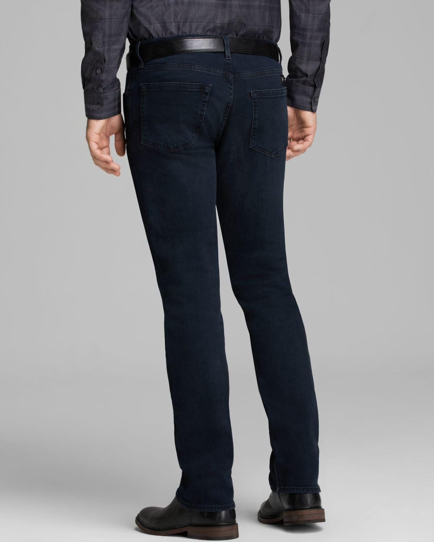 Lyst Burberry Brit Jeans Steadman Slim Straight Fit In Dark Indigo