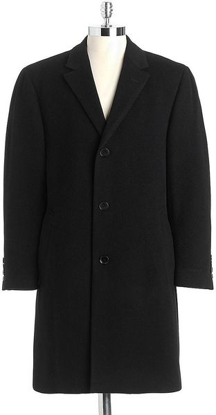 Calvin Klein Plaza Wool Cashmere Car Coat - Lyst