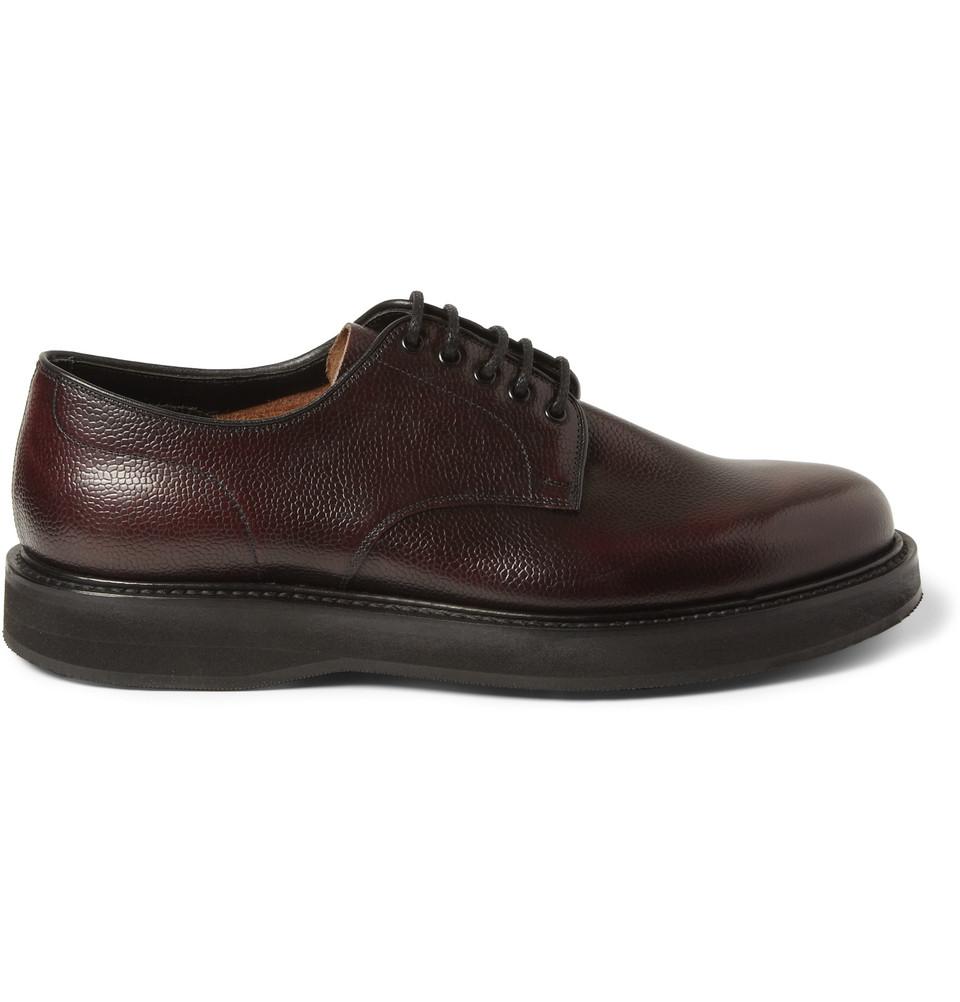 Men S Pebble Grain Shoes