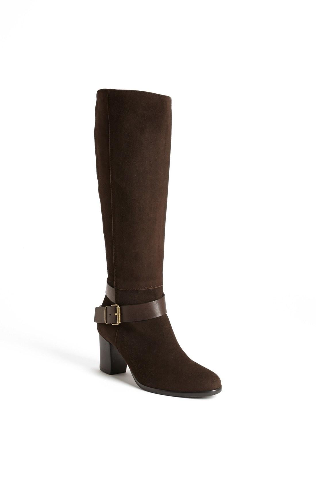 cordani vasquez italian suede boot in brown lyst