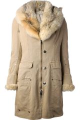 Ermanno Scervino Padded Coat - Lyst