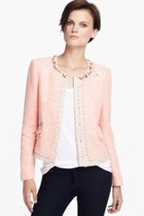 Mcginn Maria Beaded Collar Jacket - Lyst