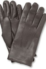Mulberry Cashmerelined Leather Gloves - Lyst