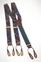 Polo Ralph Lauren Plaid Braces - Lyst