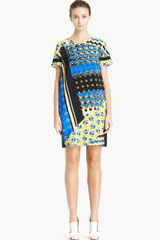 Prabal Gurung Print Silk T-shirt Dress - Lyst