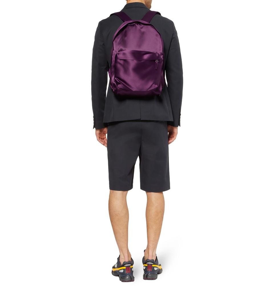 Raf Simons Eastpak Satin Backpack In Purple For Men Lyst