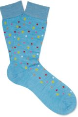 Richard James Merino Wool and Cottonblend Socks - Lyst