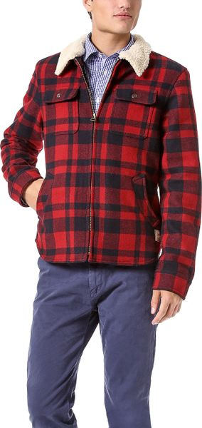Scotch Amp Soda Shirt Jacket In Red For Men Lyst