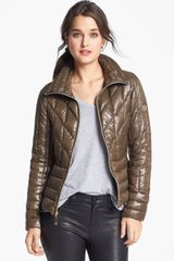 Vince Camuto Quilted Down Jacket - Lyst