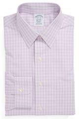 Brooks Brothers Slim Fit Noniron Dress Shirt - Lyst