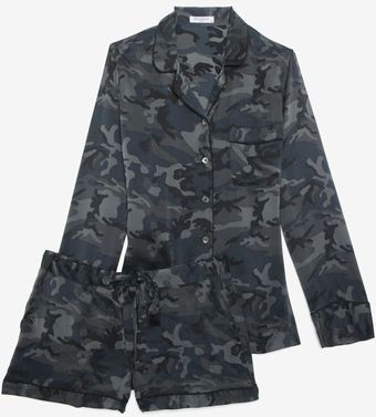 Equipment Camo Print Pj Set - Lyst