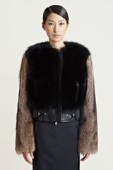 Givenchy Womens Raccoon Fur Jacket - Lyst