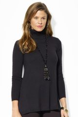 Lauren by Ralph Lauren A-line Turtleneck - Lyst