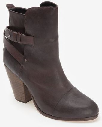 Rag & Bone Kinsey Leather Ankle Boot - Lyst