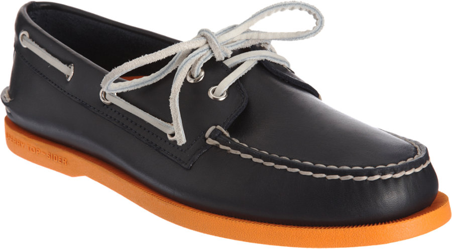 Sperry Top-Sider Classic Boat Shoe in Blue for Men - Lyst fcff18313255