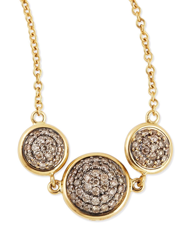 Syna 18kt Champagne Diamond Charm Bracelet y7z8m0pb