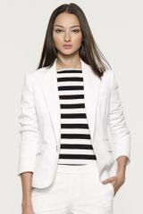 Black Label Stretch Cotton Dabney Jacket - Lyst